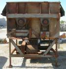 Used- Twin Shaft Paddle Mixer, approximately 188 cubic feet working capacity, 316 stainless steel.Jacketed trough 66