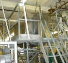 USED: Willflow paddle blender, approximate total capacity 66.8 cubic feet (500 gallon). Jacketed trough 42