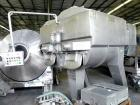 Used-Wolfking TSMV 2500 Twin Shaft Paddle Mixer. All stainless steel. Capacity 660 gallons (2500 liters). Rated for vacuum. ...