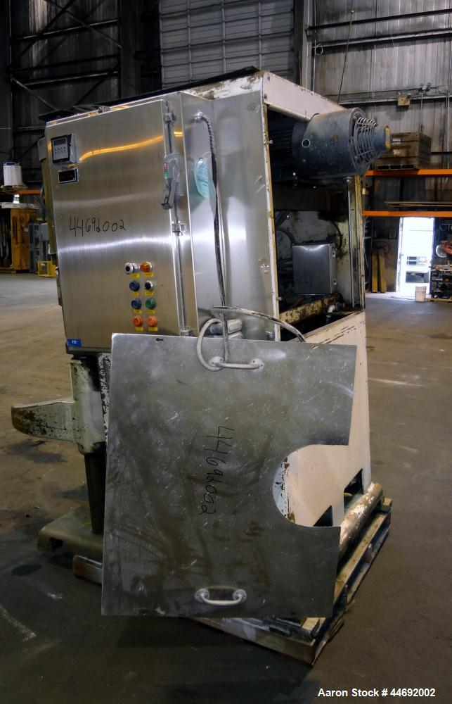 Used- AMF Glen 340 Quart (85 Gallon) Planetary Mixer. Manual speed range 45 to 330 rpm. Includes (1) 304 stainless steel fou...