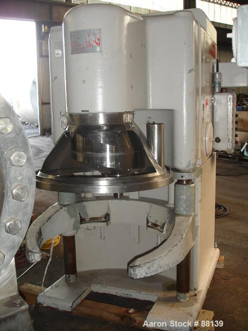 USED: AMF Glen mixer, model 74-36, 340 quart capacity. (1) Stainless steel bowl and beater, approximate 10 hp motor drive, v...