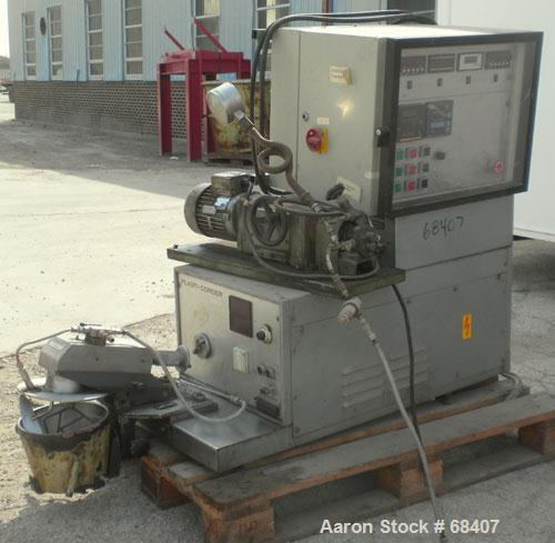 Used- Stainless Steel Brabender Planetary Mixer, 1 Gallon