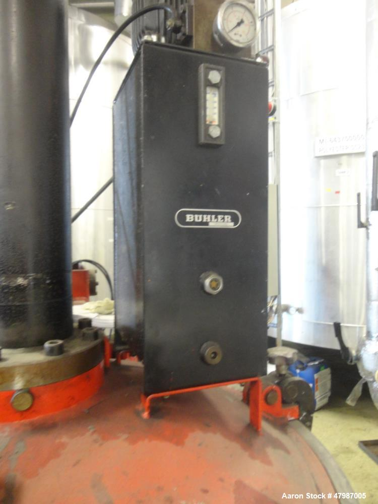 Used- Buhler Press-Out Unit, Removable Head Design, Type B 1100-K/SWF. Serial#10418858/5998, new 2000. The press out unit ha...