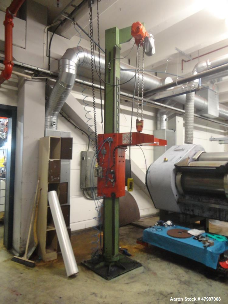 Used- Buhler Press-Out Unit, Removable Head Design, Type B 1100-K/SWF. Serial#10314682/5700, new 2000. The press out unit ha...