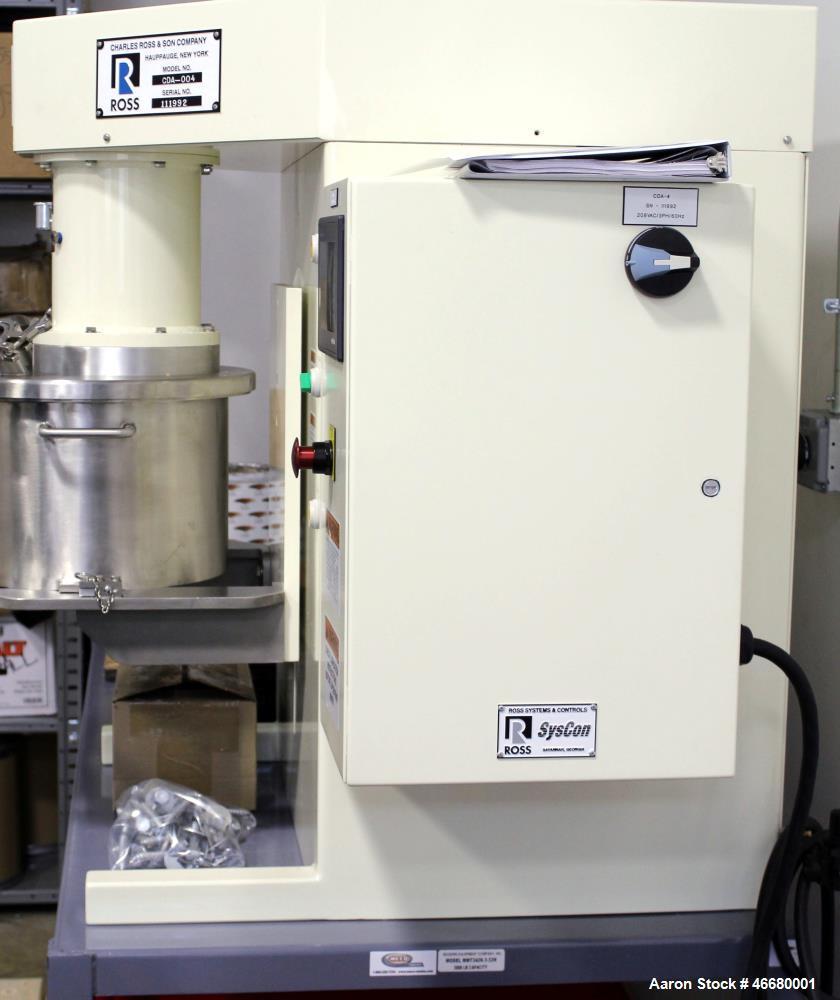 Unused- Ross Dual Shaft Mixer, Model CDA-4