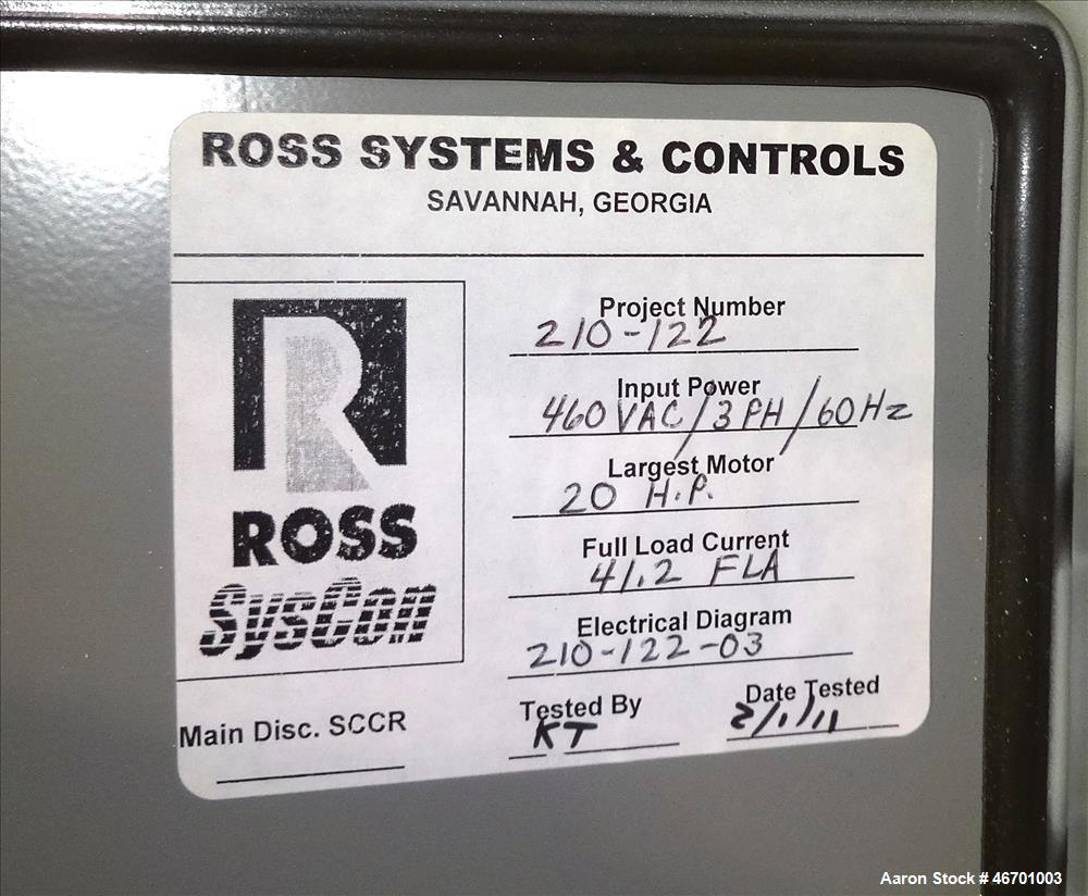 Unused- Charles Ross Planetary Mixer System.