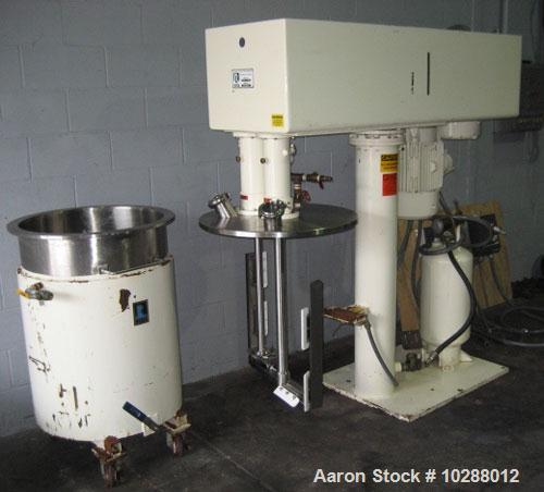 Used-Ross 50 Gallon Planetary Mixer, Ross Model CDA-50 Versamix. Stainless steel contacts, #4 finish where contact with prod...