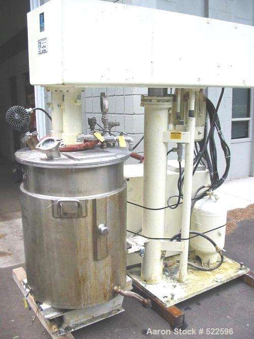 USED: Ross model CDA-50 (new model number of PVM series). Dual shaft design, 50 gallon working capacity, 65 gallon total cap...