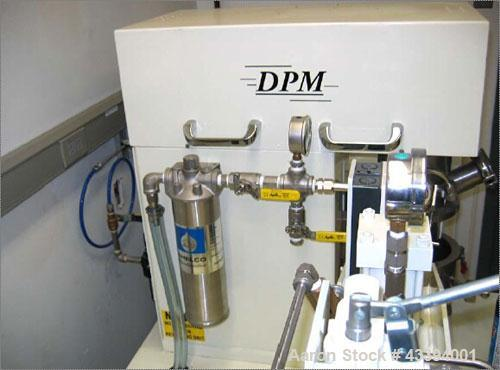 Used-Ross One Quart Double Planetary Mixer, Model DPM.  Stainless steel type 316 stirrers, stirrer shafts, vacuum hood, mix ...