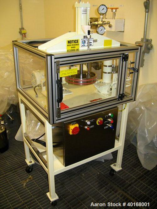 Unused-Used: 2 gal. Ross Discharge Press, Stainless Steel,  Ross Model DS-2, 2 gallon Hydraulic Plate Discharge System, stai...