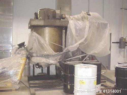 Used-Ross Double Planetary Mixer, Model HDM-150.  150 gallon mixing capacity, 2 speed, 15 psi jacketed, full vacuum rated to...
