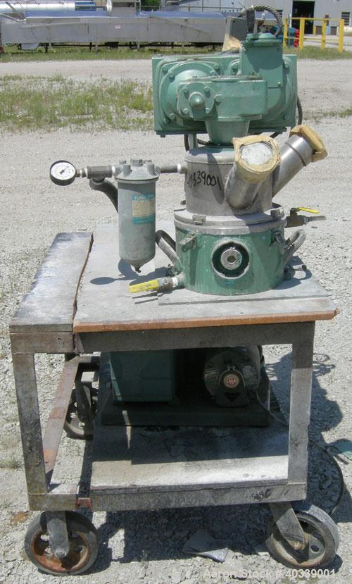 "Used- Ross Double Planetary Mixer, model LDM-1, 304 stainless steel..95 gallon working capacity, 1 gallon total. 8-1/4"" diam..."