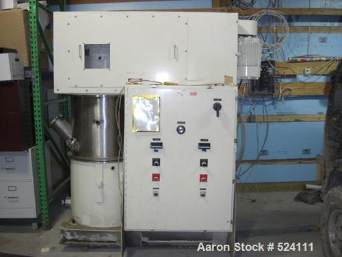 USED: Ross model PD-40 PowerMix, 40 gallon change can mixer used forhigh viscosity vacuum mixing and dispersion requirements...
