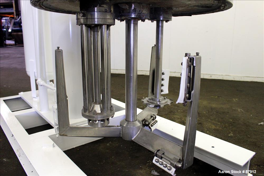 Used- Stainless Steel Ross Versa Mix, Model PVM-100