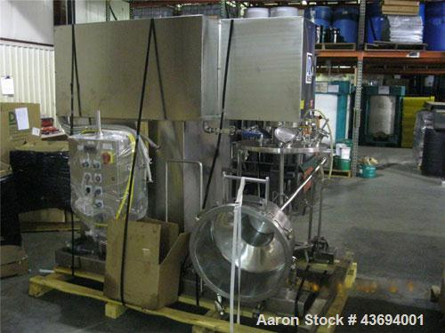 Used-Ross Model PVM025 Versa Mix Planetary Mixer, 25 gallon capacity, stainless steel construction.