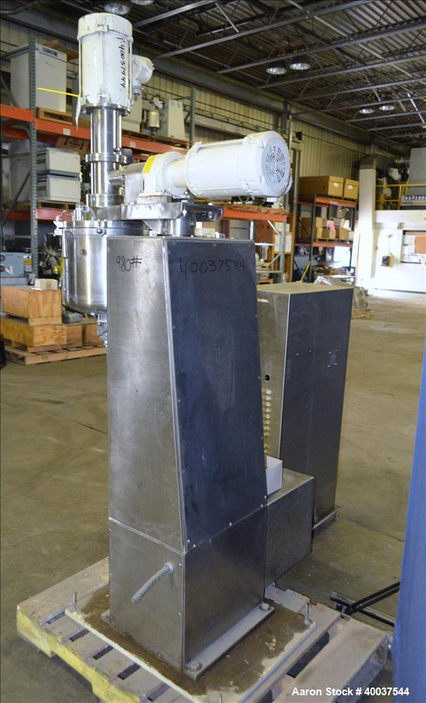 Used- Stainless Steel Ross Turbo Emulsifier, Model TE.3-10