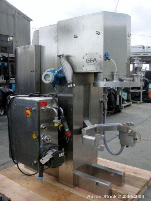 Used- GEA Collette High Shear Mixer, Model Gral 75. Stainless steel construction, serial# 00GRL00750102, less bowl.