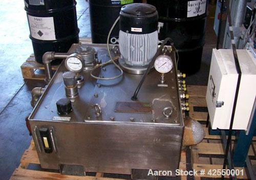 Used-Fillworth 30 Liter Laboratory Mixer, model 30L. Stainless steel mixer with evacuator.