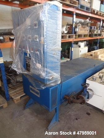Used- Fillworth Type Fillmastic Approximately 1,000 Litre Jacketed Hot Melt Mixer. Approximately mm diameter x mm straight s...
