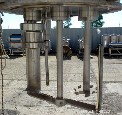 Used- Stainless Steel Fryma Triple Motion Vacuum Mixer, Model VME-20