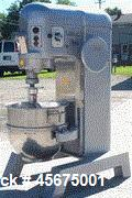 Used- Remanufactuerd Hobart 1Phase, 60 Quart Mixer with hook and bowl, 200 volt. Model H600