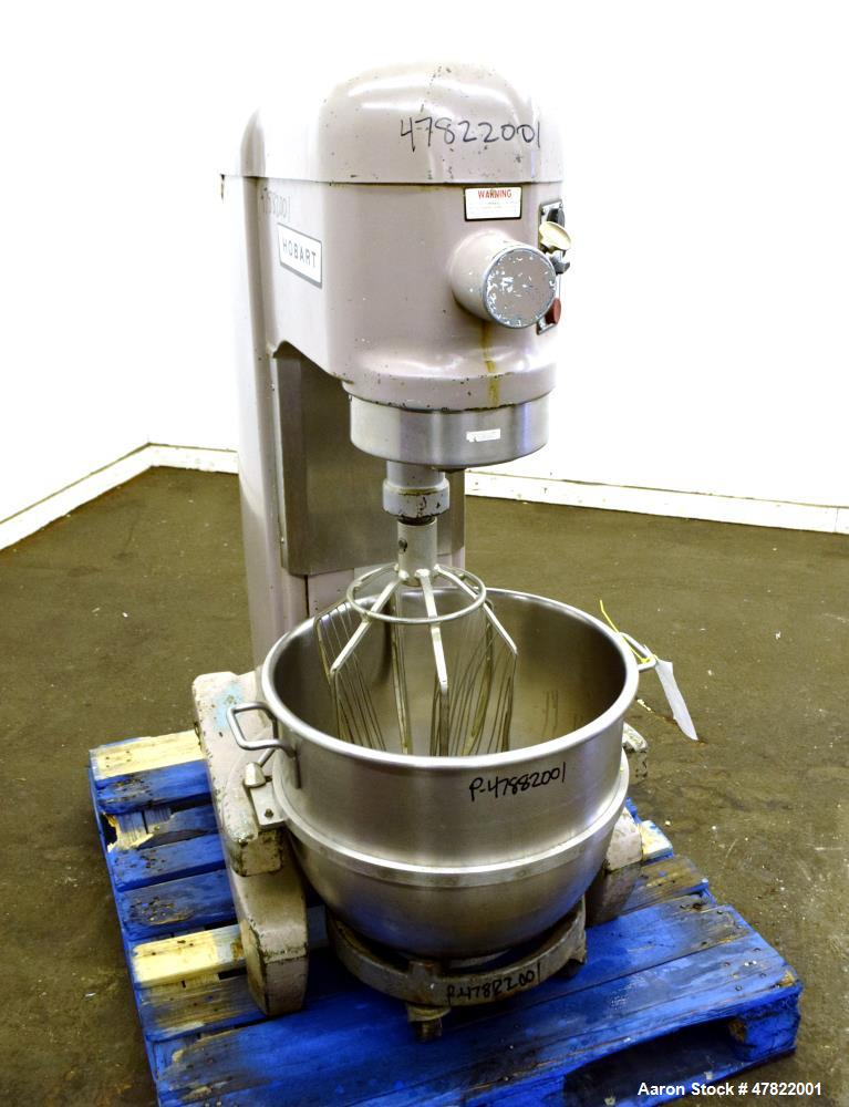 Used- Hobart All Purpose Mixer, Model L-800, 80 Quart Capacity.