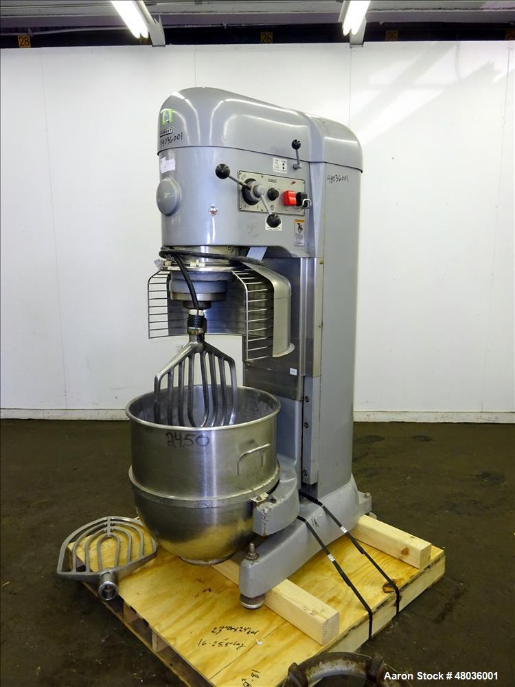 Used- Hobart Model V-1401 All Purpose Mixer, 140 Quart Capacity.