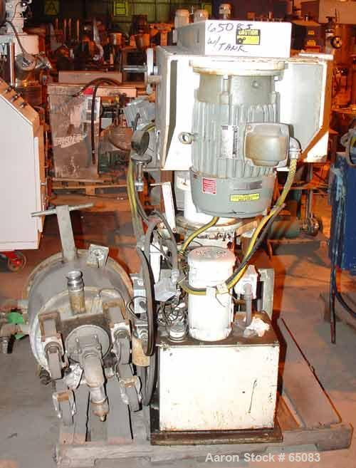 Used- Stainless Steel Jaygo Double Planetary Kneader Mixer, Model MPVD-60