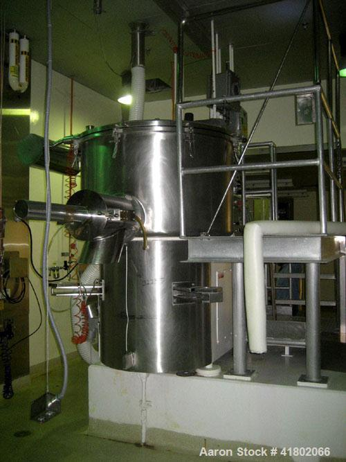 Used- Stainless Steel Littleford High Speed Mixer/Granulator, Model MGT-1200.
