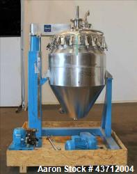 Used- Hellmich Reactor, 79 Gallon, 316 Stainless Steel, Vertical.