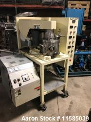 Used- Ross Triple Motion Stainless Steel Mixer, Model PVM2. 2 gallon stainless steel jacketed change can. Vacuum mixer. Trip...