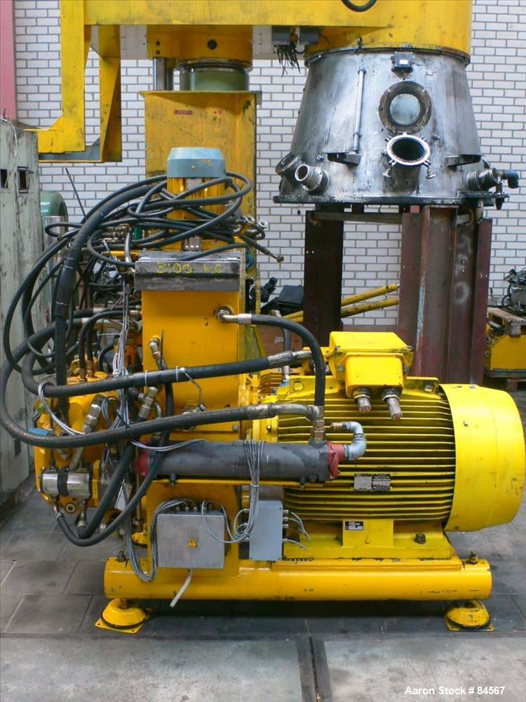 Used- Molteni Planetary Mixer, Type PH/H2000SV