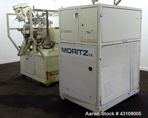 Used- Moritz S.A. Turbosphere Mixer / Granulator / Dryer, Model MC24BU, 316 Stainless Steel.Approximate 24'' diameter spheri...