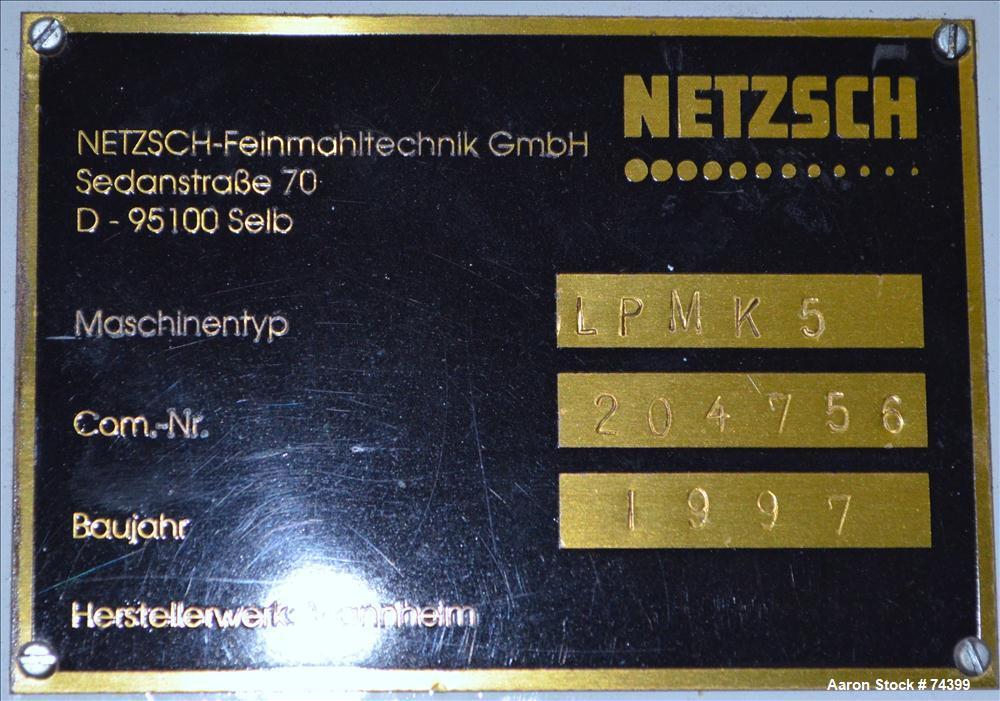 Used- Netzsch Planetary Mixer, Model LPMK5