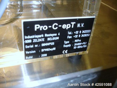 Used- Pro-C-Ept High Shear Mixing System, Model MI PRO