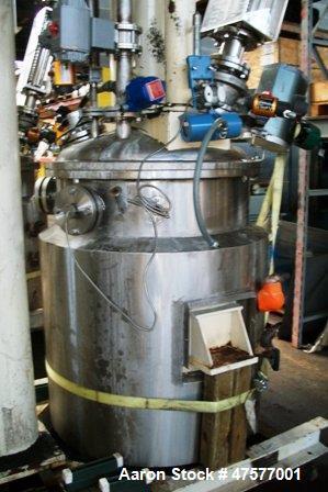 "Used- Ross PVM-100 Versamix, Triple Shaft Vacuum Mixers. (With close to 200 gallon capacity). Tank: ID is 35"" diameter x 48""..."