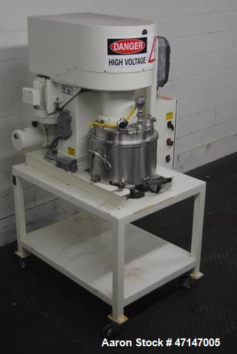 "Used- Ross, Model PVM-4 30-Liter Stainless Steel High Shear Vacuum Mixer. 30 liter full capacity. Triple action mixer. 16"" d..."