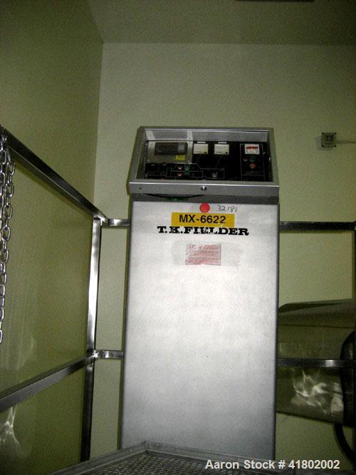 Used- TK Fielder Pharma Matrix High Speed Mixer/ Granulator, Model PMA-1200, Stainless Steel. Capacity 1200 liter, average b...