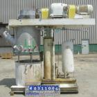 Used- Ross Double Planetary Mixer, model HDM100, 304 stainless steel. 10-100 gallon working capacity. 34 1/2'' diameter x 28...