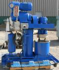 Used- Ross Double Planetary Mixer, Model HDM10, Stainless Steel. 2-12 gallon working capacity, 15 gallon total. 18