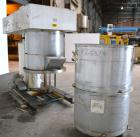 Used- Ross Double Planetary Mixer, Model HDM75, 304 Stainless Steel. 10-75 Gallon working capacity. (2) 34-1/2