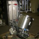 Used- Fryma Triple Shaft Vacuum Mixer, Model VME-20, stainless steel. 38 liter total capacity, 20 liter working capacity, in...