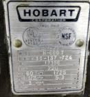 Used- Hobart All Purpose Mixer, Model H-600T, 60 Quart Capacity.