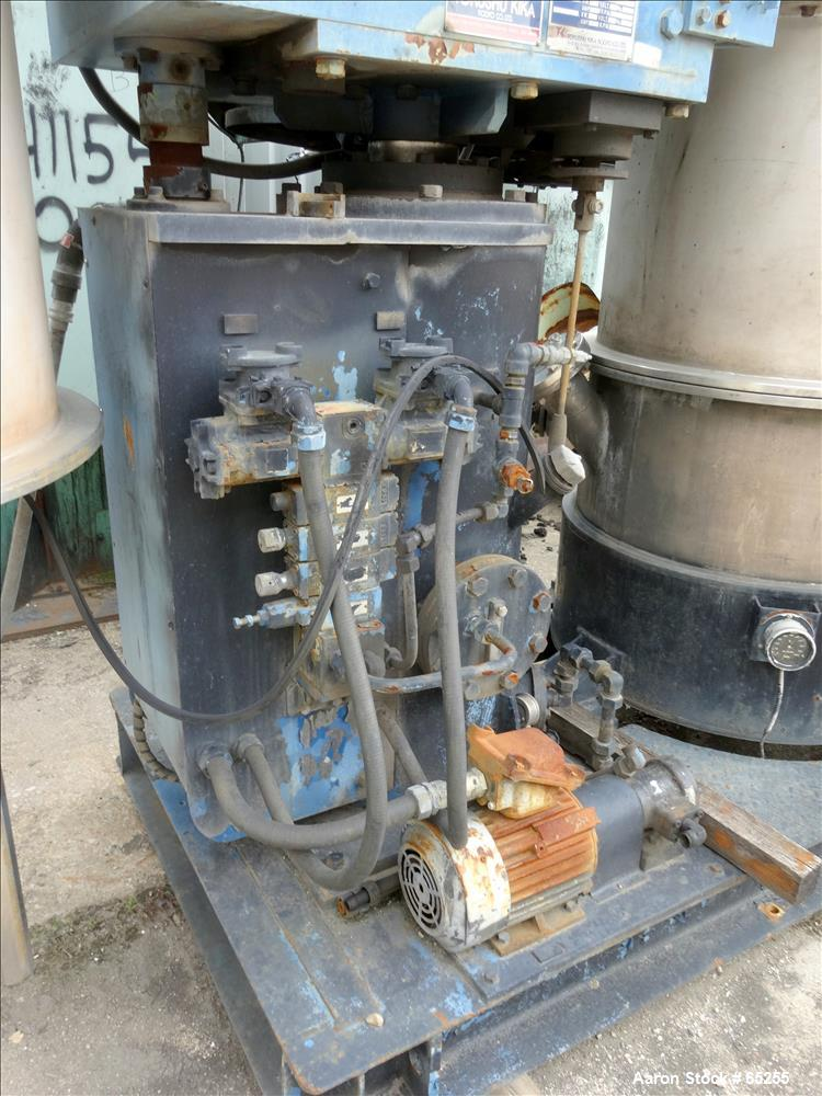 Used- Stainless Steel Tokushu Kika Combimix Mixer, Model 2T-160