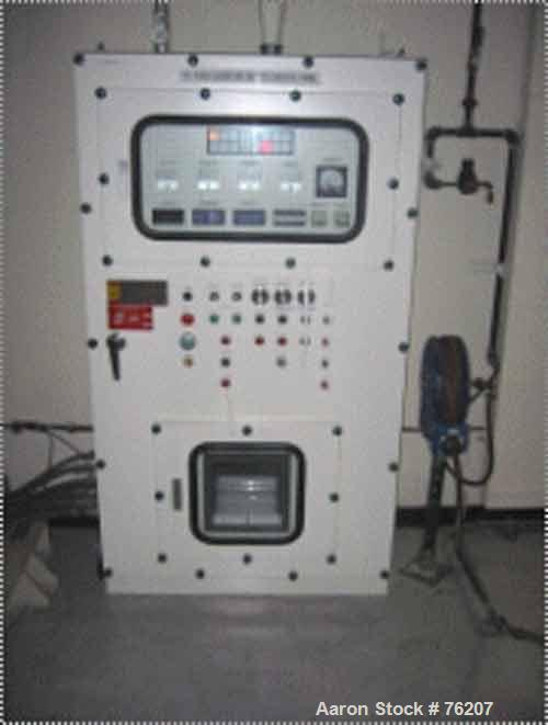 USED: Tokushu Kika Kogyo Co Ltd planetary mixer. 100 gallon capacity with explosion proof control panel. Traction drive 3.7 ...