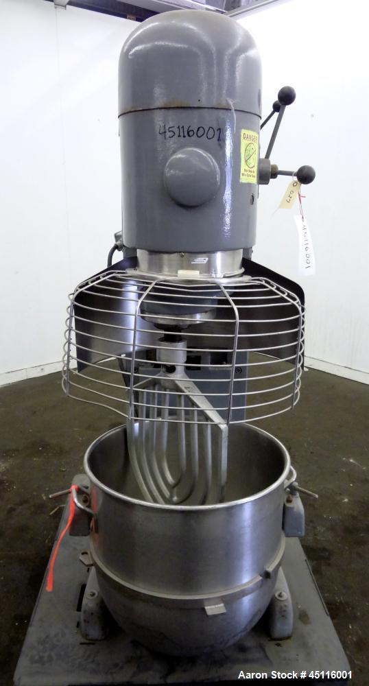 Used- Hobart All Purpose Mixer, Model V-1401, 140 Quart Capacity