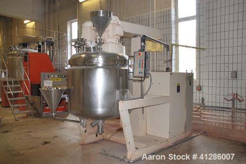 Used- Fryma Model VME-700 Planetary Mixer