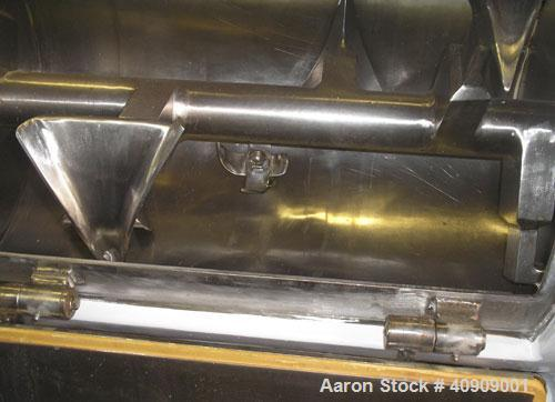 Used-Littleford Plow Mixer. Stainless Steel.