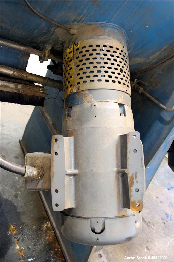 Used- Corsteel Plow Mixer, Model 600L, Horizontal