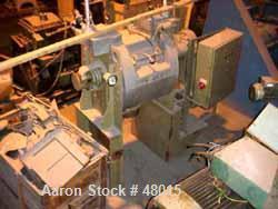 Used- Stainless Steel Draiswerke Turbulent Mixer, Model T 160 FM II
